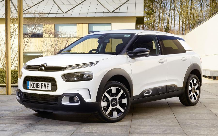 Citroen C4 Cactus (UK) '2018
