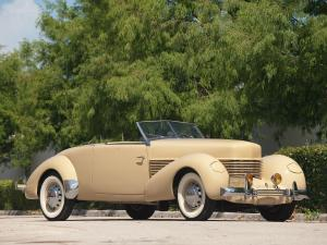 Cord 812 Convertible Coupe 1937 года