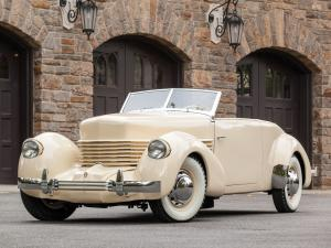 Cord 812 Convertible Phaeton Sedan 1937 года
