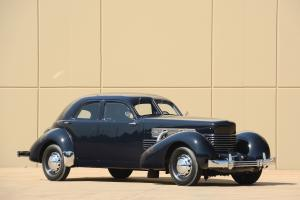 1937 Cord 812 Custom Beverly Sedan Bustlback
