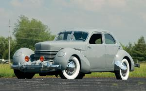 1937 Cord 812 Supercharged Beverly Sedan Bustlback