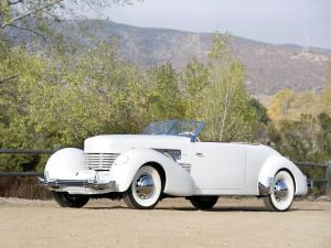 1937 Cord 812 Supercharged Convertible Phaeton Sedan