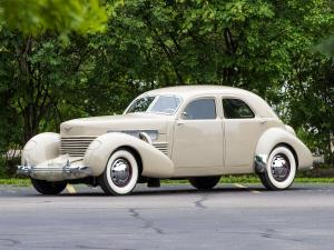 1937 Cord 812 Supercharged Custom Beverly Sedan Bustlback