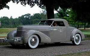 1938 Cord 814 Custom Convertible Prototype