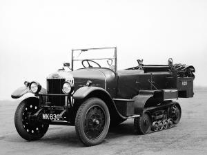 1927 Crossley Kegresse Battery Staff Car