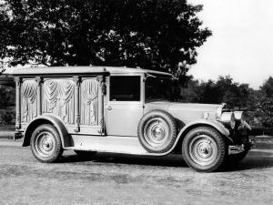 Cunningham Carved-Panel Hearse