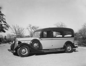 1935 Cunningham-Lincoln Hearse Style