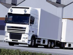 DAF XF95 6x2 FAN Super Space Cab 2002 года