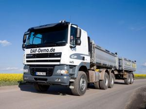 2006 DAF CF85 6x4 FAT Sleeper Cab Tipper