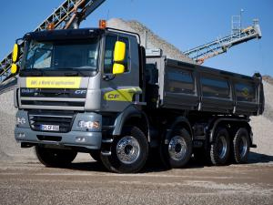 DAF CF85.410 8x4 FAD Day Cab Tipper 2006 года