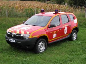 2011 Dacia Duster Firefighters
