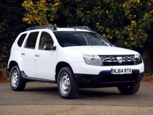Dacia Duster Access 2014 года (UK)