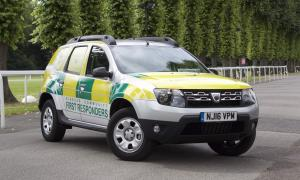 Dacia Duster First Responders 2016 года