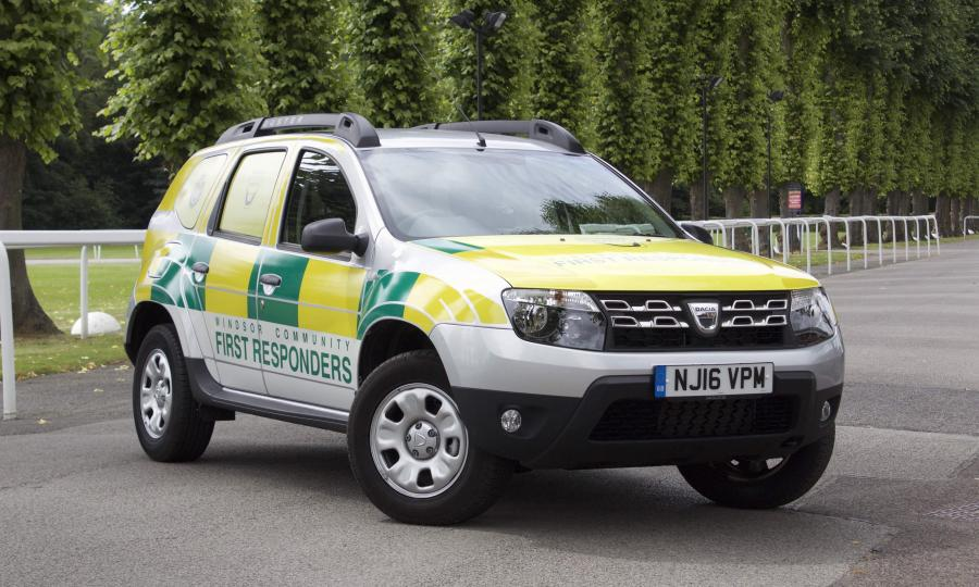 Dacia Duster First Responders '2016