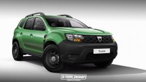 Dacia Duster Base Spec by X-Tomi Design 2017 года