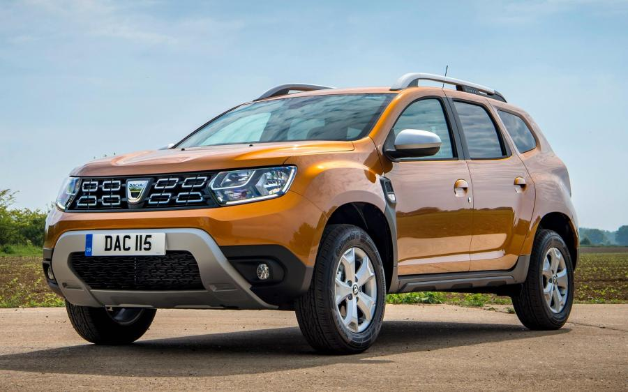 Dacia Duster Comfort (UK) '2018