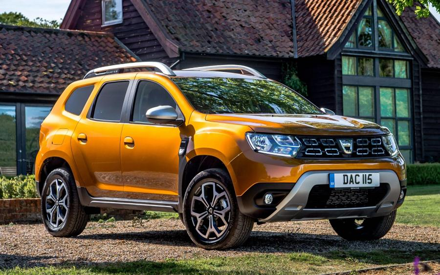 Dacia Duster Prestige 4WD (UK) '2018