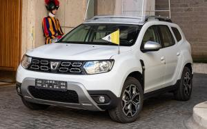 Dacia Duster Popemobile '2019