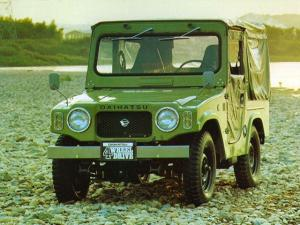 Daihatsu Wildcat SWB Soft Top 1974 года