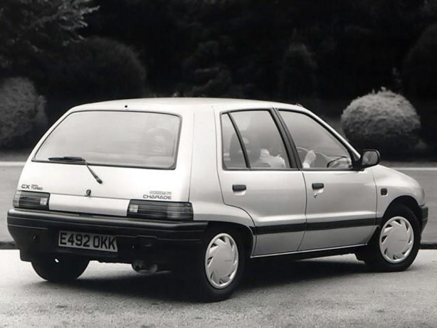 Daihatsu Charade CX Diesel Turbo (UK) '1987