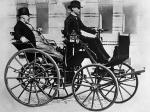 Daimler Motorized Carriage 1886 года