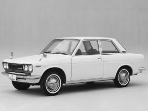Datsun Bluebird 2-Door Sedan 1967 года