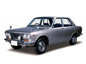 Datsun Bluebird 4-Door Sedan 1967 года