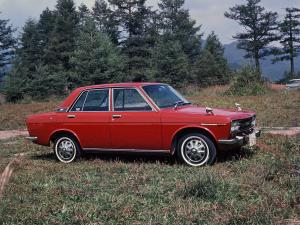 Datsun Bluebird 1600 SSS 4-Door Sedan 1968 года