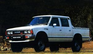 1979 Datsun Pickup 4WD Double Cab
