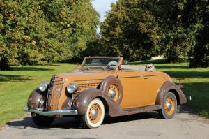 1935 DeSoto SF Convertible Coupe