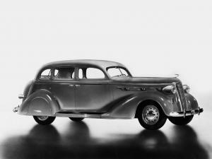 1936 DeSoto Airstream Custom Six 7-Passenger Sedan