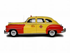1946 DeSoto Custom Sedan Taxicab