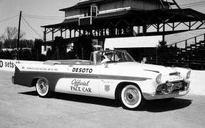 DeSoto Adventurer Convertible Pace Car 1956 года