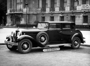1930 Delage D8 Berline par Binder