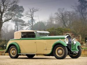 1933 Delage D8 Foursome Drophead Coupe