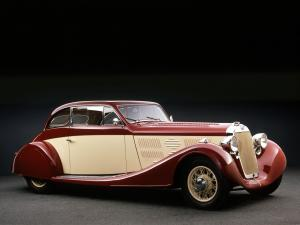 1935 Delage D8 105 Sport Aerodynamic Coupe by Letourneur & Marchand