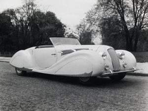 Delage D6-75 Roadster by Figoni & Falaschi 1938 года