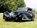 Delahaye 135 Competition Court Coupe par Figoni & Falaschi 1936 года