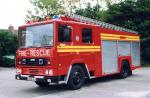Dennis RS 135 R3C Angloco Water Tender Ladder 1988 года