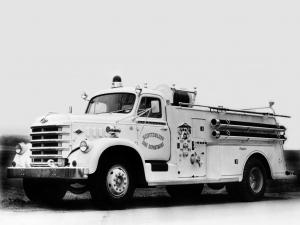 Diamond T 636 by Central Fire Truck Corporation '1958