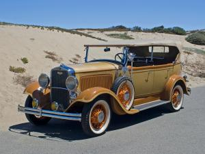 Dodge Model DC Phaeton 1930 года