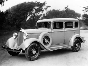 1933 Dodge DP 4-Door Sedan