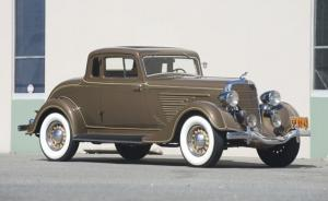 1934 Dodge Deluxe DR Coupe