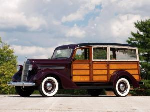 Dodge Westchester Suburban by US Body & Forging Co 1936 года