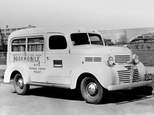 1939 Dodge Job-Rated Panel Bookmobile