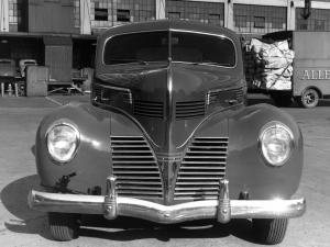 1939 Dodge Luxury Liner Business Coupe