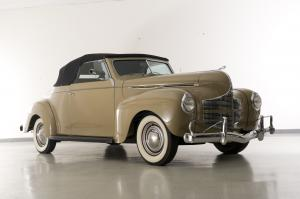 Dodge Deluxe Convertible Coupe 1940 года