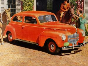 Dodge Luxury Liner Special 2-Door Sedan 1940 года