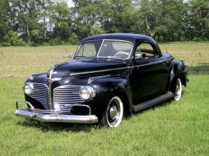 1941 Dodge Luxury Liner Deluxe Business Coupe
