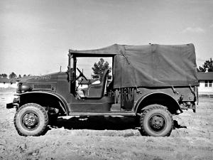 Dodge WC-4 Open Cab Pickup 1941 года